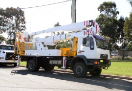 20 Metre Telescopic 4WD Cherry Picker