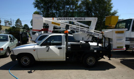 10 metre cherry picker on ute